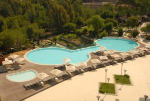 отель в горах Турции